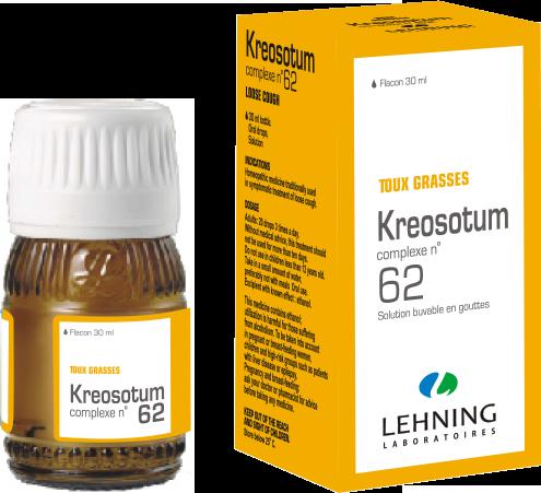 Kreosotum o complexe n 62