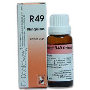 Dr  Reckeweg R 49 Sinusitis Drops - 22 ML
