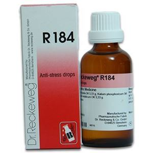 Dr  Reckeweg R 184 Anti Stress Drops - 50 ML