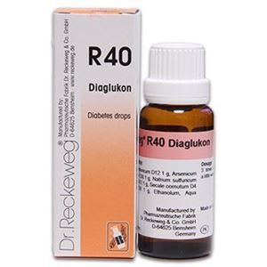 Dr Reckeweg R 40 Diabetes Drops - 22 ML
